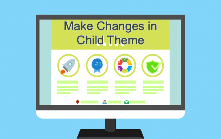 Make Changes in Child Theme