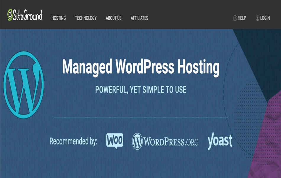 SiteGround Managed WordPress Hosting