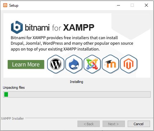 Allowing XAMLL Installer Unpack Its Files