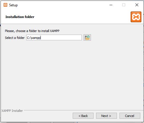 Choose Installation Folder