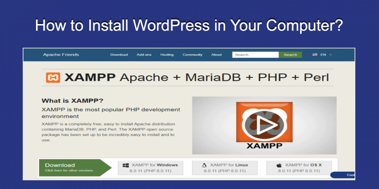 How to Install WordPress in Your Computer?