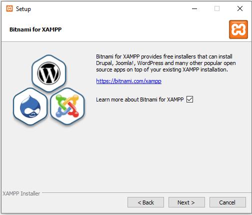 Learn Bitnami for XAMPP